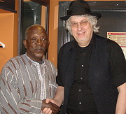 Ousman Sembene and Hasse Walli