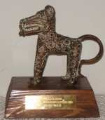 The Villa Karo Bronze panther cultural award